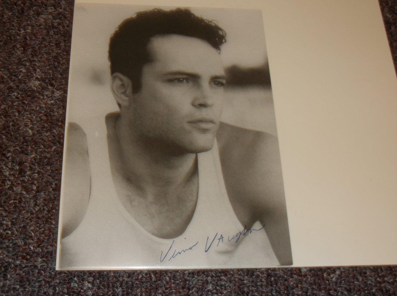 Vince Vaughn signed reprint 5x7 photo undershirt
