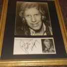 Porter Wagoner 1927-2007 signed card matted w/photo