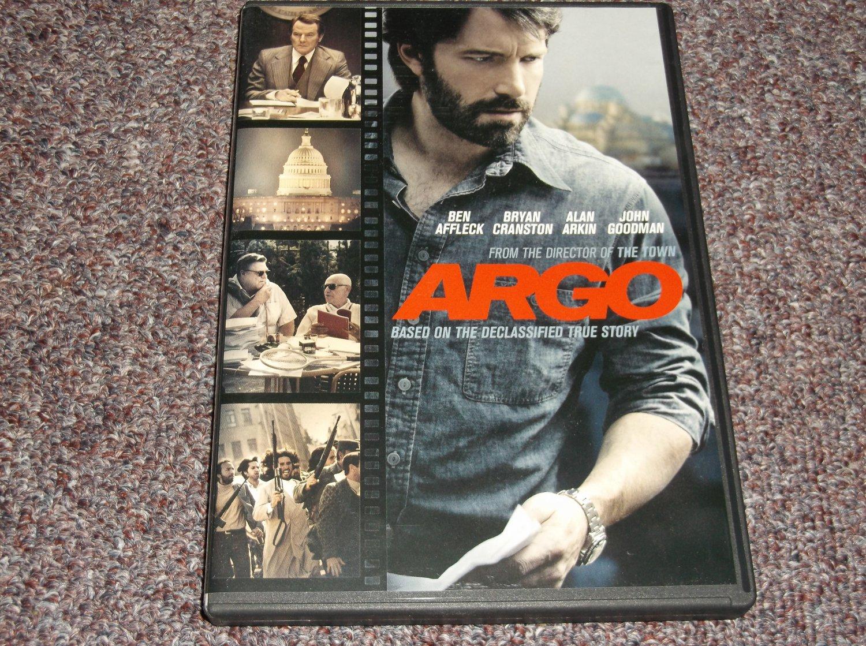Argo DVD Region 1 Ben Affleck