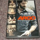 Argo DVD Region 1 Ben Affleck