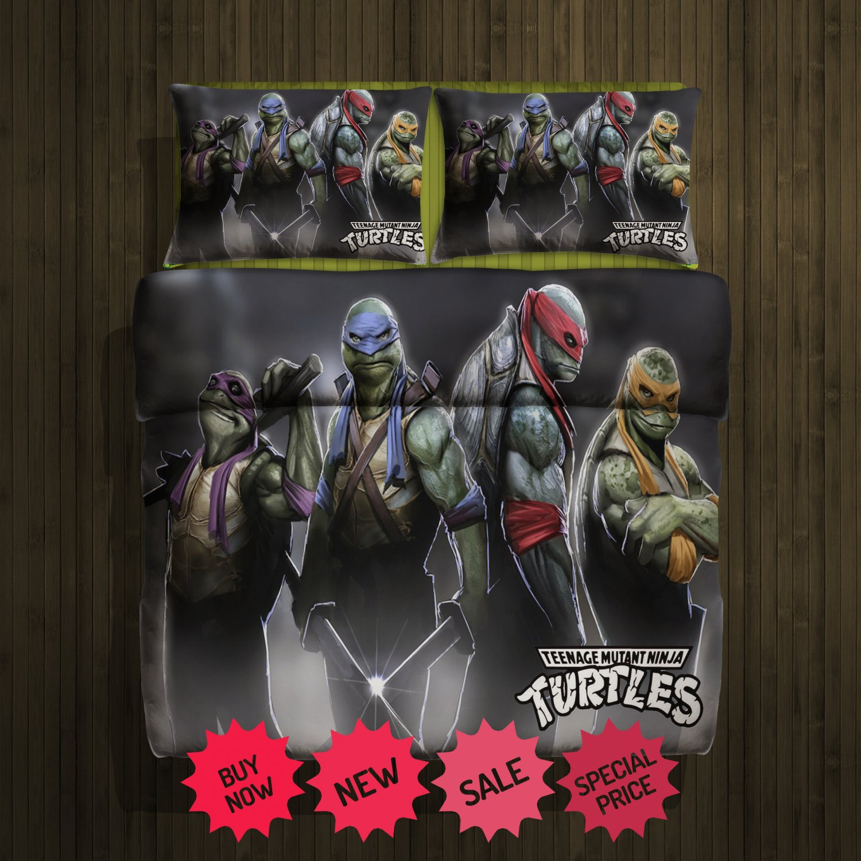 Ninja Turtles Blanket Large & 2 Pillow Cases #90015952 ,90015953(2)