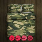 Army Fleece Blanket Large & 2 Pillow Cases #84600950,84600956(2)