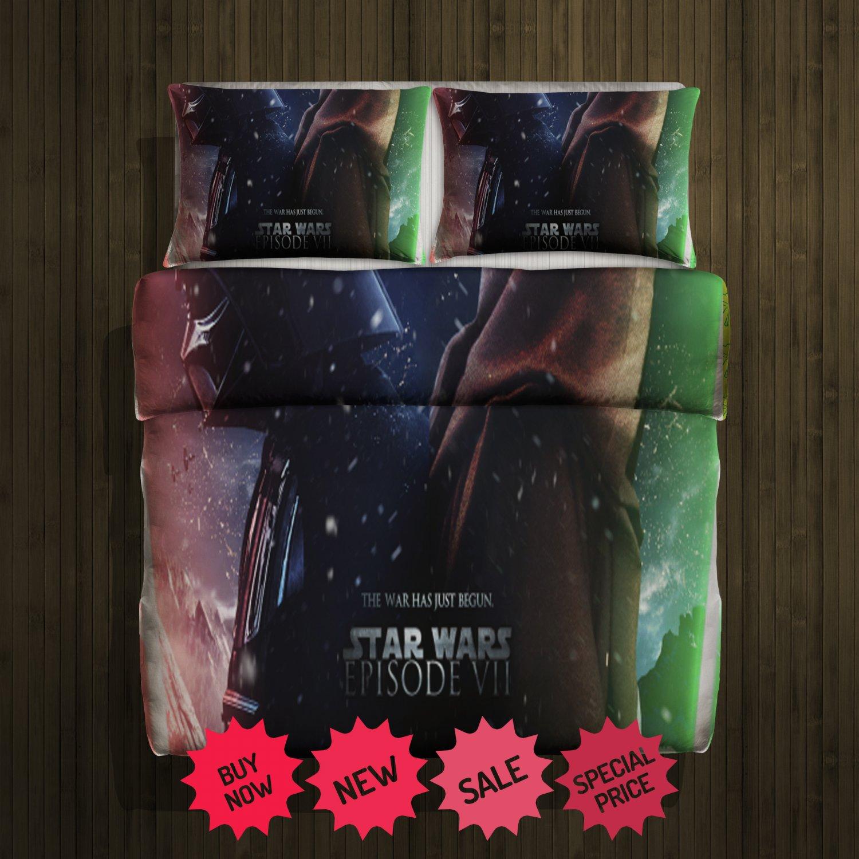 Star Wars 2015 Blanket Large & 2 Pillow Cases #93786471 ,93786481(2)