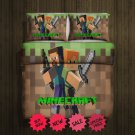 Mine Craft 2016 Blanket Large & 2 Pillow Cases #97292389 ,97292390(2)