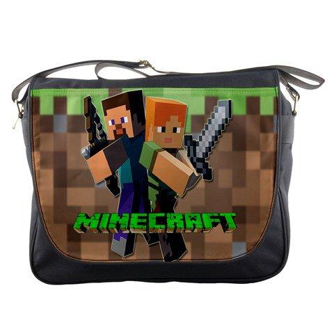 mine craft 2016 Messenger Bag #97292393