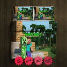 Mine Craft New Blanket Large & 2 Pillow Cases #97295870,97295871(2)