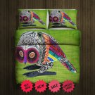 Aztec Owl 2 Blanket Large & 2 Pillow Cases #98741706 ,98741711(2)