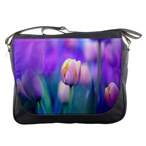 Tulips 3 Messenger Bag #98650466
