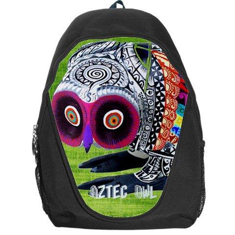 aztec owl  Backpack Bag #98727275