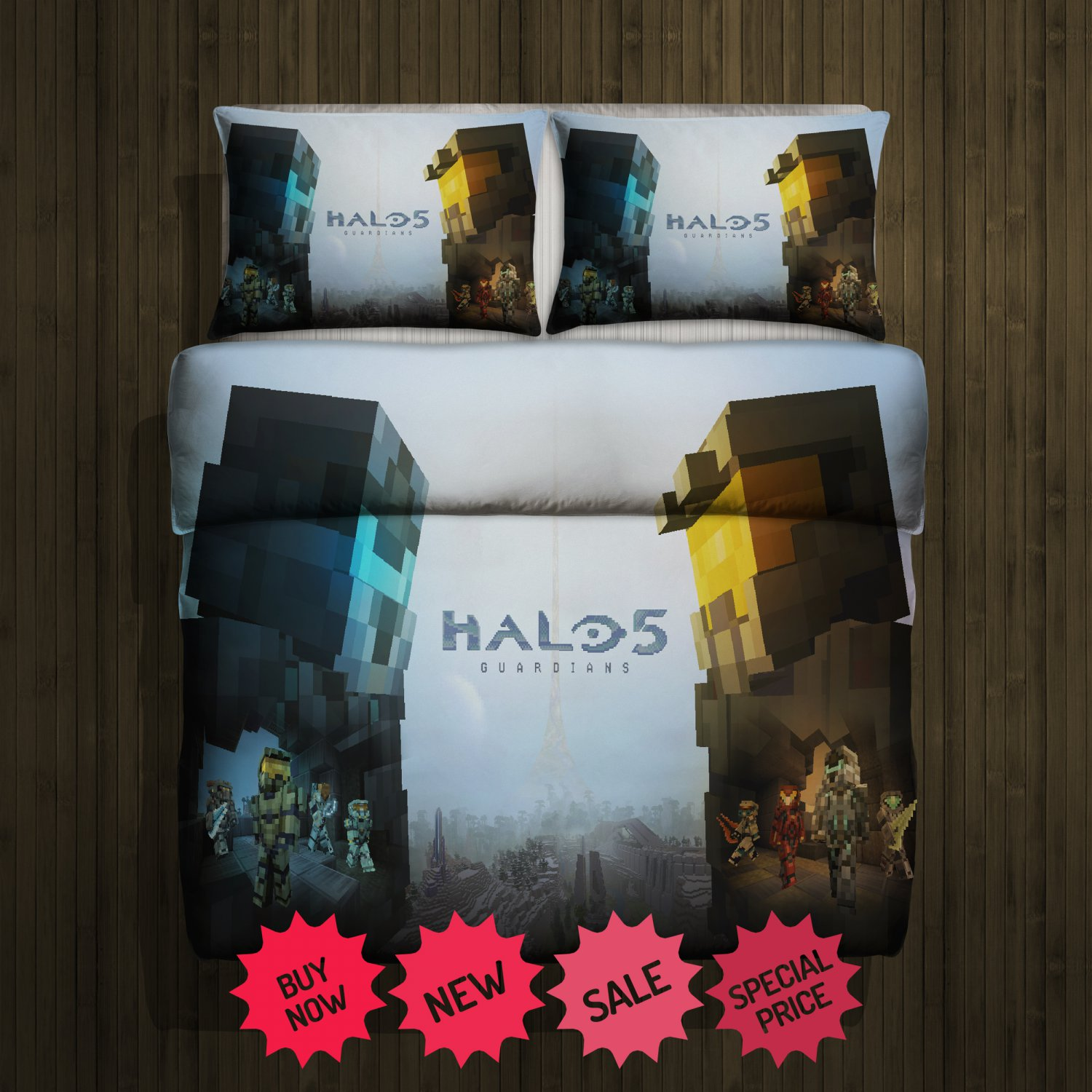 Halo 5 Blanket Large & 2 Pillow Cases #85700294,85700297(2)