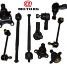 Suspension Steering Kit Upper Lower Ball Joints Sway Bars Rack ends Amigo Rodeo