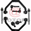 2 Upper Control Arms 2 Lower Ball Joints 2 Inner 2 Outer Tie Rods Explorer B4000