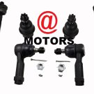 Kit Inner Outer Tie Rod Ends Lower Ball Joints 2004 To 2008 Ford F-150 Steering