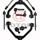 2 Upper Control Arms and Ball Joints Sway Bar Links Inner Outer Tie Rods Ranger