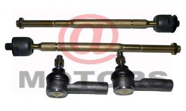 2 Inner 2 Outer Tie Rod Ends Right Left Geo Prizm Rav4 Corolla Steering System