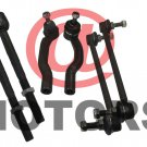 Steering Tie Rod Ends Suspension Sway Bar Link Set Kits Fits Toyota Sienna