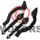 New Front Tie rod End fits Civic Steering Lower Part Set of [4] Honda Rods Ends