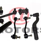 Steering Pitman Arm Front Ball joints Tie Rod End Ford Super Duty F450 F550 F350