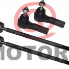 Tie Rod End Ford Mustang Rack End Auto parts Steering Mustang GT Rods Joints Set