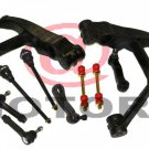 Control Arm and Ball Joint Assembly Tie Rods Sway Bar Pitman Idler Arm CHEVY GMC