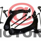 Set Lower Control Arm w/ Ball Joint Tie Rod Sway Bar Shocks Absorber Cobalt G5