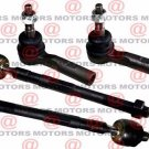 Inner Outer Tie Rods Steering Set 4 Pieces 16mm Thread For Chevy Colorado 4WD