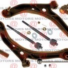 Front Lower Control Arms Inner & Outer Tie Rod Ends Stabilizer Bar Honda Odyssey