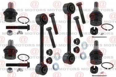"For Excursion 05 RWD Lh & Rh Stabilizer Bar Link 6.85"" Lower Upper Ball Joints"