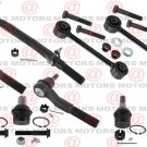 For Super Duty  F-250 RWD 08-10 Tie Rods Ball Joints Stabilizer Bar Link