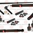For Ram 2500 03-08 Front Lower Upper Ball Joint Tie Rods Pitman Arm Shocks