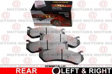 For Kia Sorento 2011-2014 Rear Left Right Disc Brake Pad SemiMetallic New