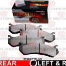 For Pontiac G5 2007-2010 Rear Left Right Disc Brake Pad Semi-metallic MD1033