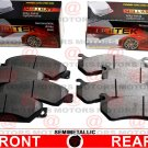 For Chevrolet Cobalt 05-08 Front Rear Left Right Disc Brake Pad Semi-Metallic
