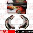 For Jeep WRANGLER 2001-2006 Rear Left Right Set Brake Shoes New