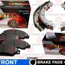 For Isuzu i-280 2006 Front Left Right Brake Pad Ceramic Rear Brake Shoes