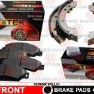For Pontiac Sunfire 05 Front Lh & Rh Brake Pads Semi-Metallic & Rear Brake Shoes