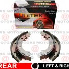 For Jeep Patriot 2008-2016 Nissan Versa 2007-2012 Rear Left Right Brake Shoes