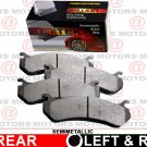 For Ford F-350 SUPER DUTY 05-08 Disc Brake Pads Semi-Metallic Rear Left & Right