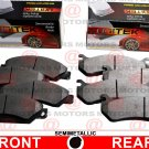 For Ford F-350 SUPER DUTY 05-08 Front Rear Lh & Rh Brake Pads Semi-Metallic New