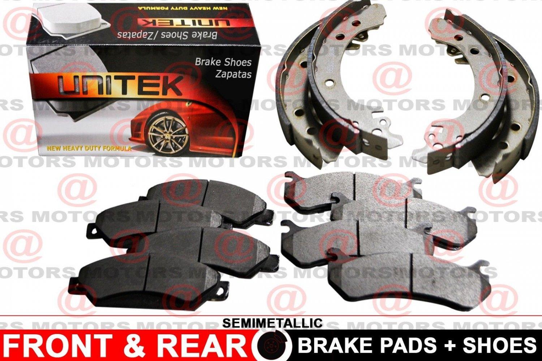 For Mazda Tribute 2005-2008 Brake Shoes Brake Pads Set Lh & Rh Semi-Metallic