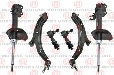 For Sentra 02-06 Front Suspension Kit Lower Control Arms Strut Shock Assembly