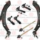 For Sentra 2000-2006 Front Lh & Rh Lower Control Arms Tie Rods Sway Bar Link New