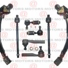 For Nissan Maxima 94 Front Lower Control Arms Sway Bar Link Inner Outer Tie Rod
