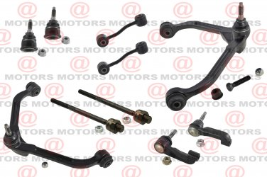 For Liberty 06-07 Upper Control Arms Ball Joints Inner Outer Tie Rods Sway Bar