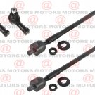 For Mitsubishi Galant 04-12 Front Outer Inner Left Righ Tie Rod End 4 Pieces