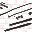 For Ford F-350 4WD 1987-1997 Front Inner Outer Tie Rods Adjusting Sleeve Shocks