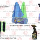 Spray & Glow Tire Shine Majic Protectant 16 oZ Microfiber Cleaning & Car Duster