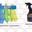 "Majic Protectant 16 oZ Microfiber Cleaning Cloths Size 12""X16"" 3 Pk Car Care Kit"