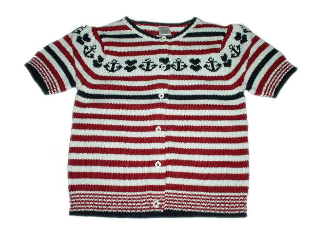 NWT GYMBOREE Red White Blue July 4th Cardigan Sweater 8