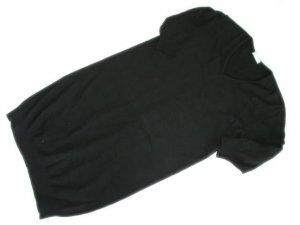 JOAN VASS Cashmere Angora Blend Black Sweater Dress 1